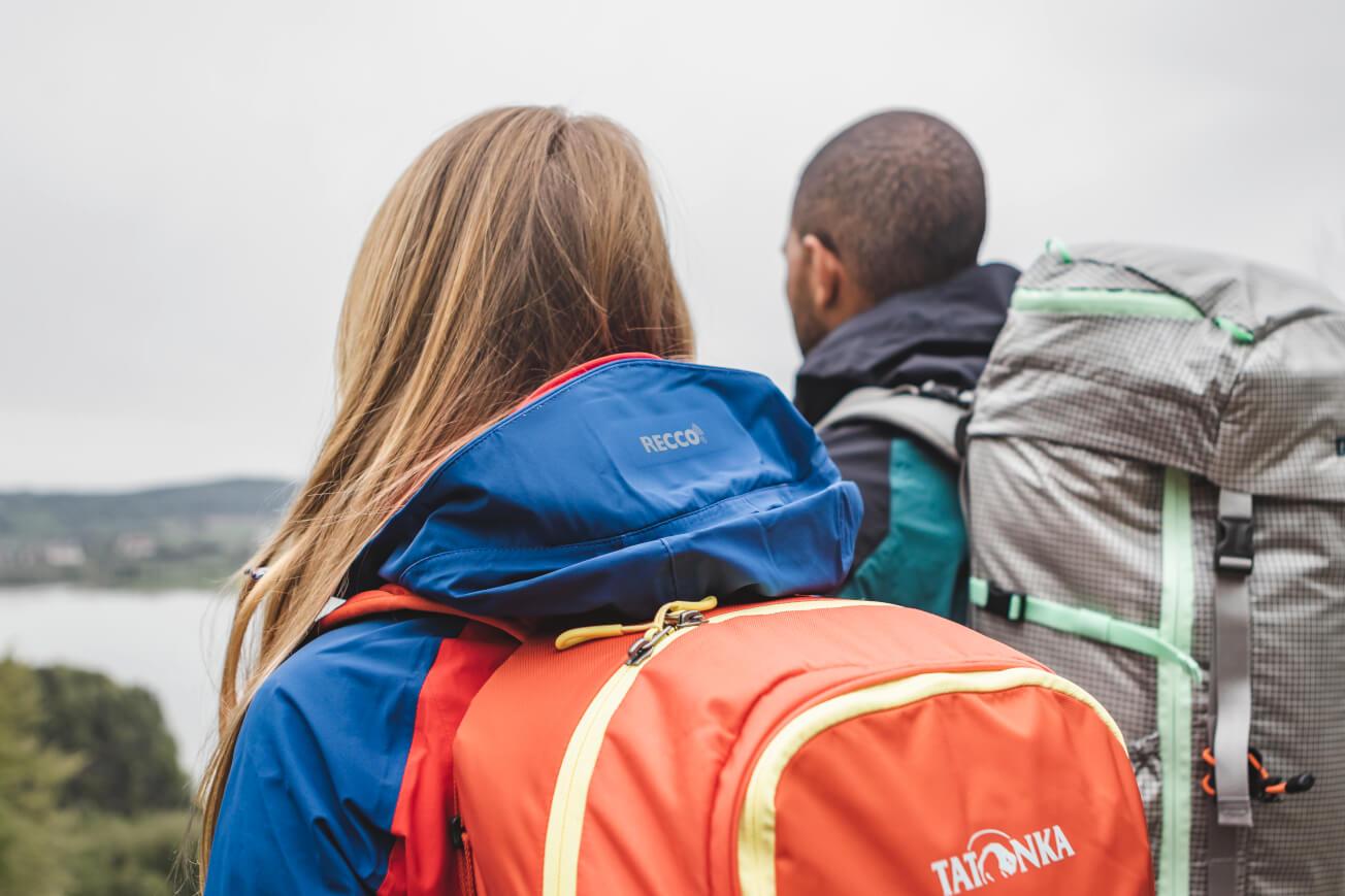 Kletterrucksack mit Lebensretter RECCO®-Reflektor - Cima di Basso Recco von Tatonka