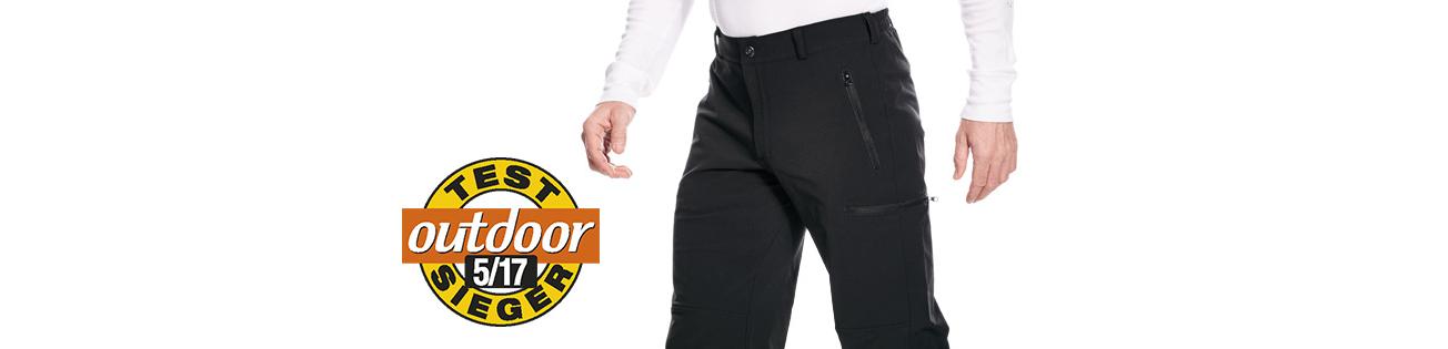 Trekkinghose Tatonka Bowles Pants erhält vom outdoor-Magazin das Prädikat Testsieger.