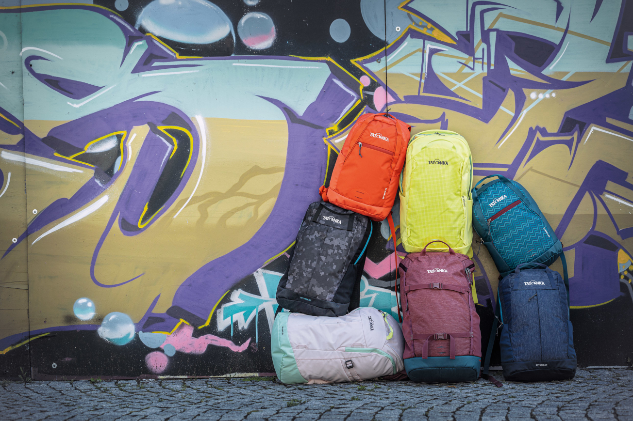 Vielfältige Alltagsbegleiter - Die neuen City Packs von Tatonka